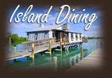 island dining on North captiva